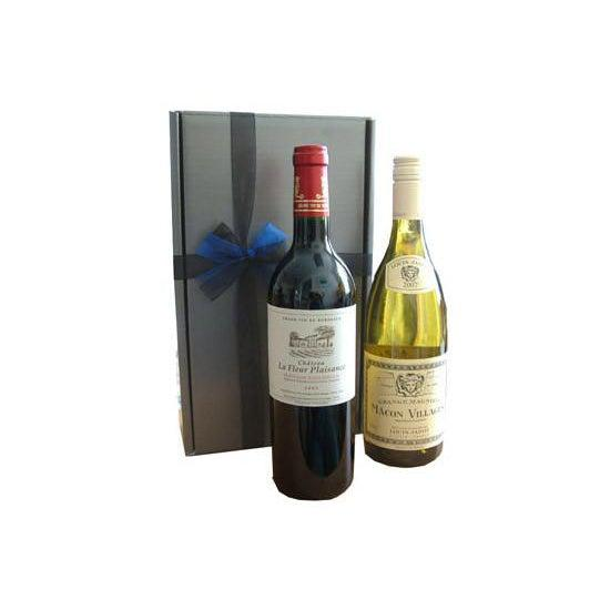 """Deux Couleurs"" - The French Wine Gift Set-Gifts-World Wine"