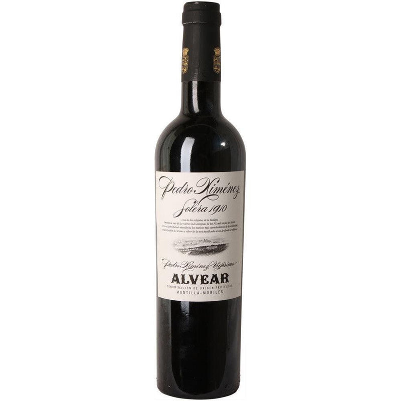 Alvear Pedro Ximenez Solera 1910 NV (12 bottle case)-Red Wine-World Wine
