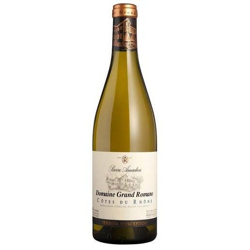 Pierre Amadieu Côtes-du-Rhône Grand Romane Blanc 2014-White Wine-World Wine