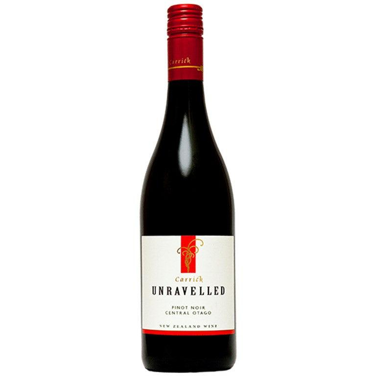 Carrick Unravelled Pinot Noir 2016-Red Wine-World Wine