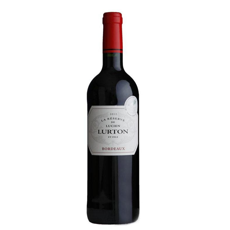 Lucien Lurton Bordeaux Rouge (Merlot Cabernet) 2012-Red Wine-World Wine