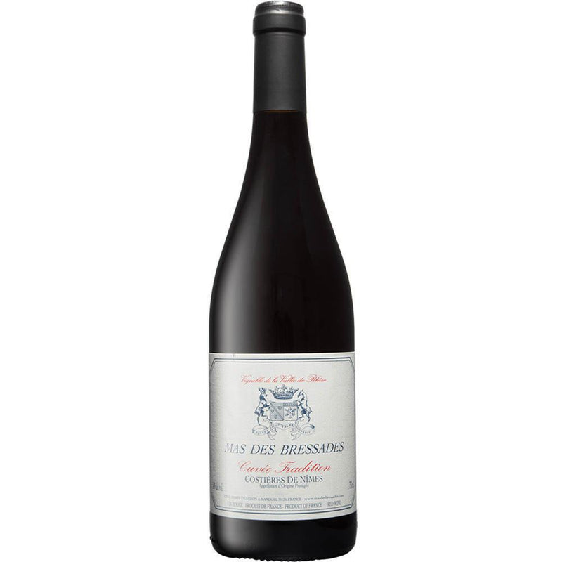 Mas des Bressades Cuvee Tradition Rouge 2016-Red Wine-World Wine
