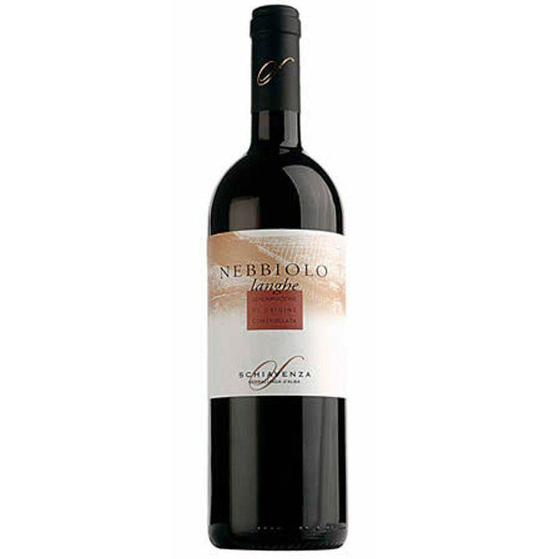 Schiavenza Langhe Nebbiolo 2011 (12 bottle case)-Red Wine-World Wine