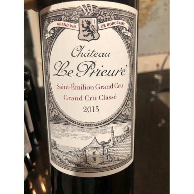 Chateau Le Prieure, St. Emilion Grand Cru Classé 2015-Red Wine-World Wine