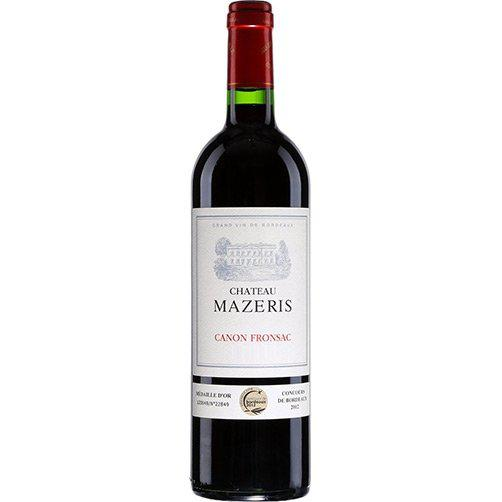 Chateau Mazeris (Canon Fronsac A.O.C.) 2016-Red Wine-World Wine