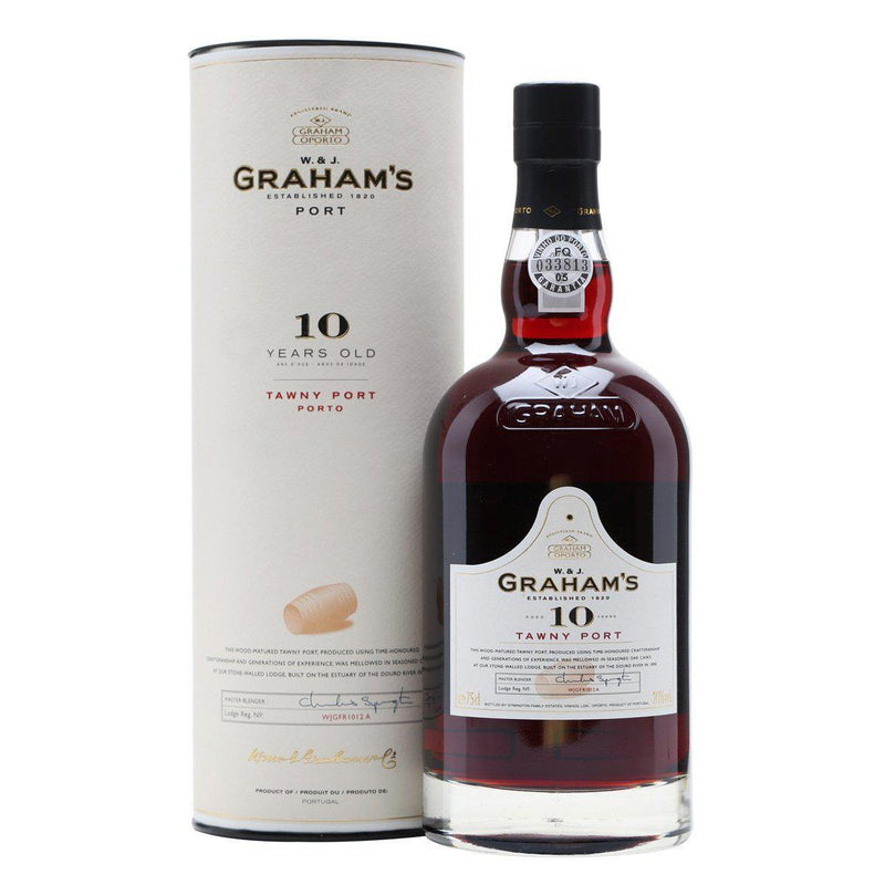 Graham's Ten Year Old Tawny Port (Gift Boxed)-Dessert, Sherry & Port-World Wine