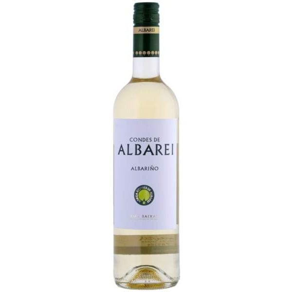 Condes de Albarei Albariño 2018 (12 bottle case)-White Wine-World Wine