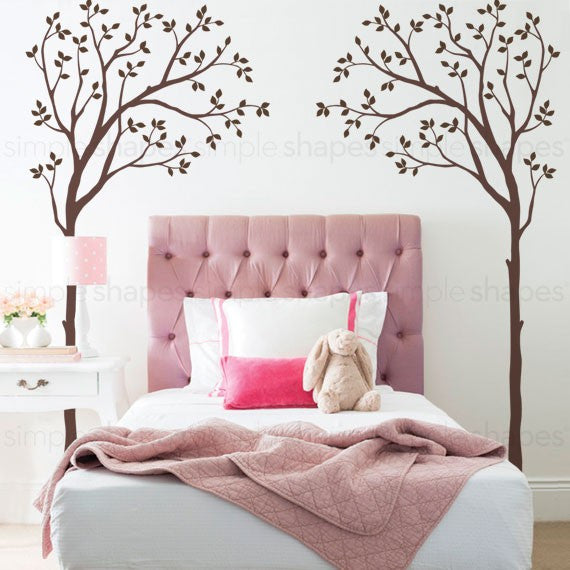 Bed Canopy Tree Wall Decals
