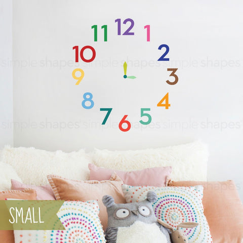 Numbers Wall Sticker