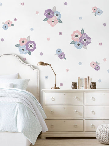 Kids Flower Wall Stickers