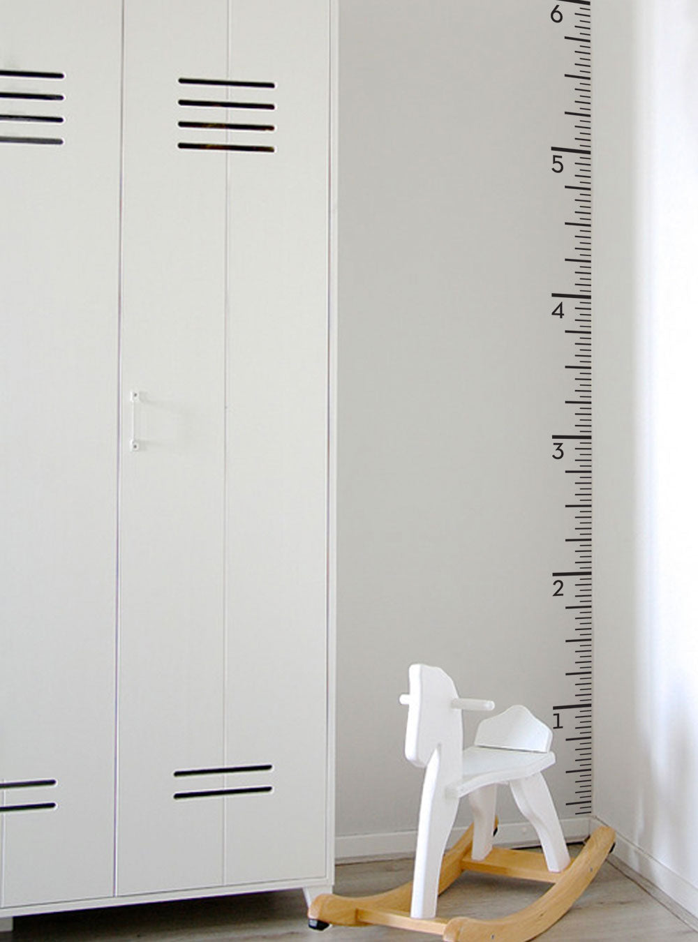Growth Chart Ruler Decal - Children's Vinyl Wall Decal