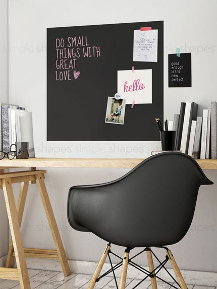 Chalkboard Wall Decal - Square