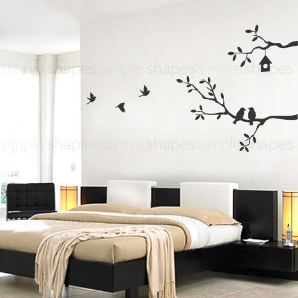 Birds and Branches Decal