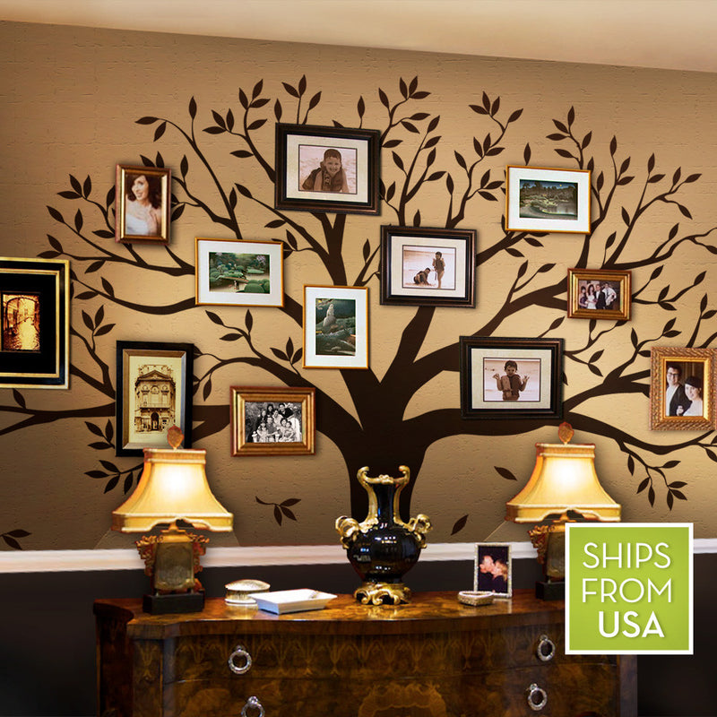Family Tree Wall Decal by Simple Shapes