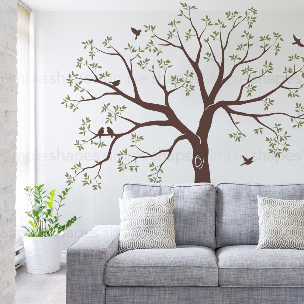 Staircase Family Tree Wall Decal Tree Wall Decal