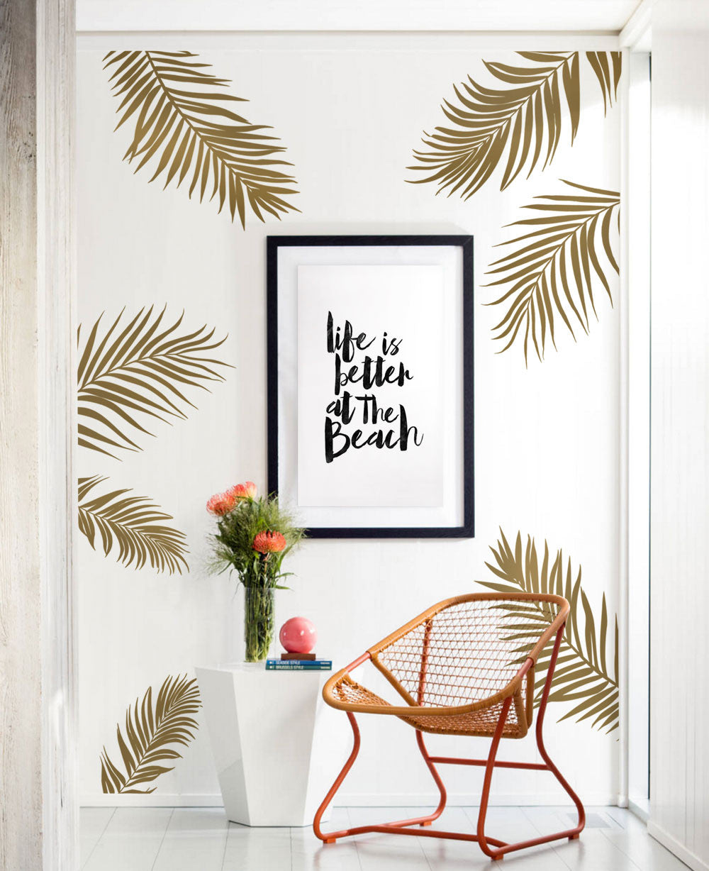 Palm Leaves Wall Decal