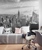 Manhattan Photograph Wall Art - Peel and Stick Wallpaper