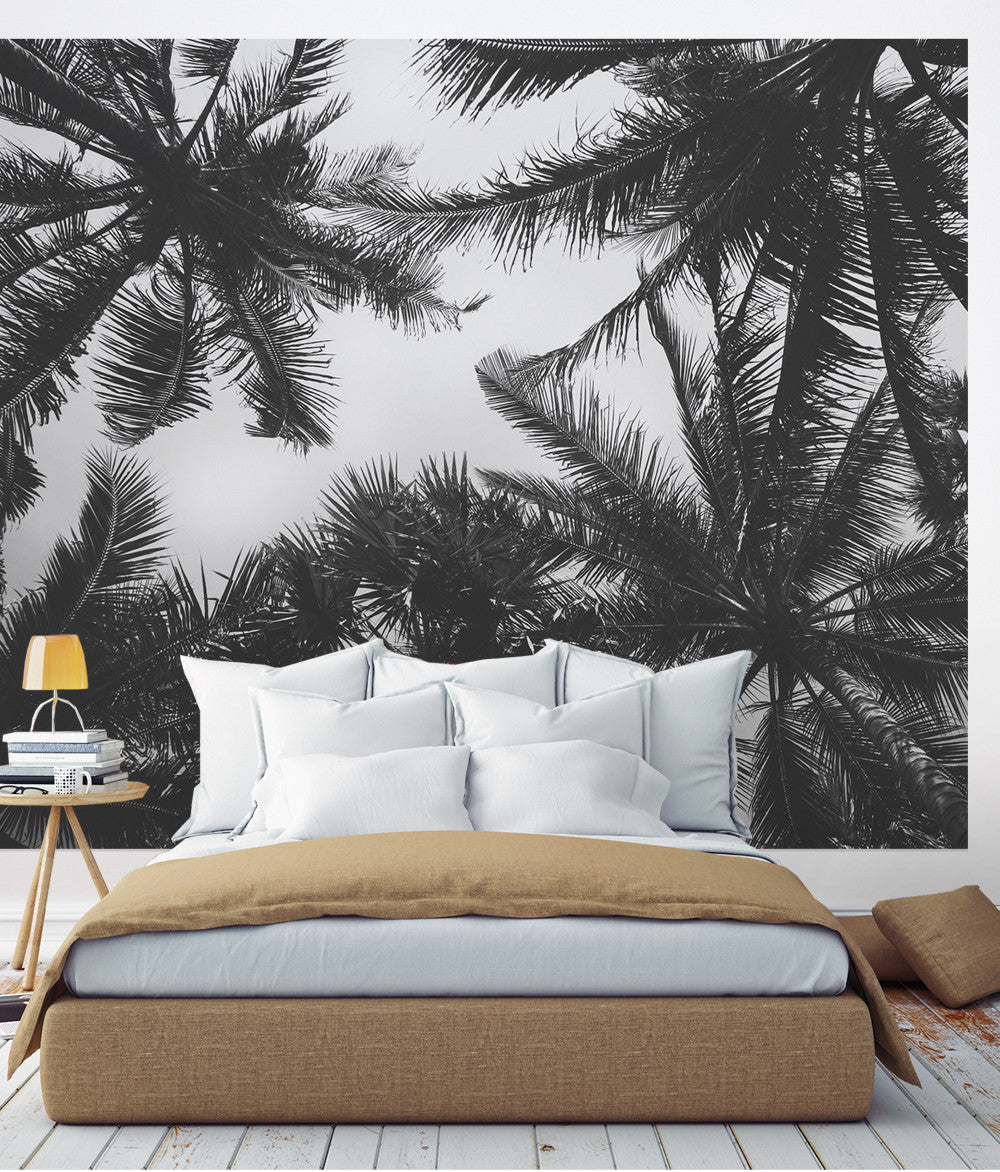 Palm Tree Photograph Wall Art Peel And Stick Wallpaper