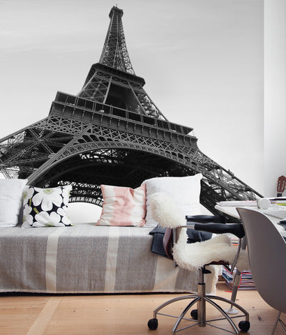 Eiffel Tower Photograph Wall Art - Peel and Stick Wallpaper