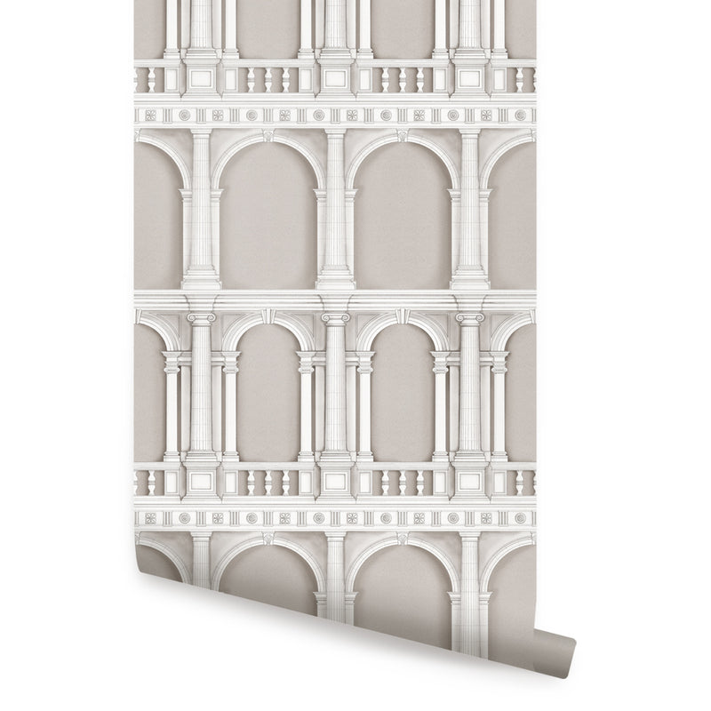 CLASSIC ARCHITECTURE WALLPAPER - PEEL AND STICK