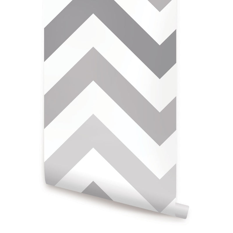 Chevron Wallpaper - Peel and Stick