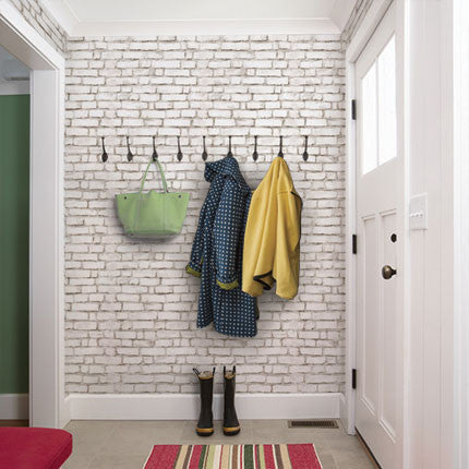 Brick Wallpaper - Peel and Stick
