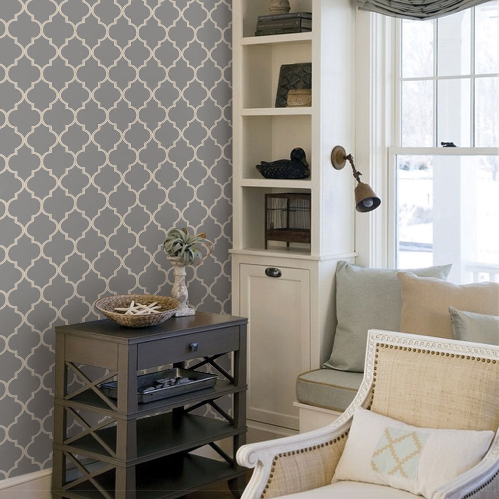Moroccan Wallpaper - Peel and Stick