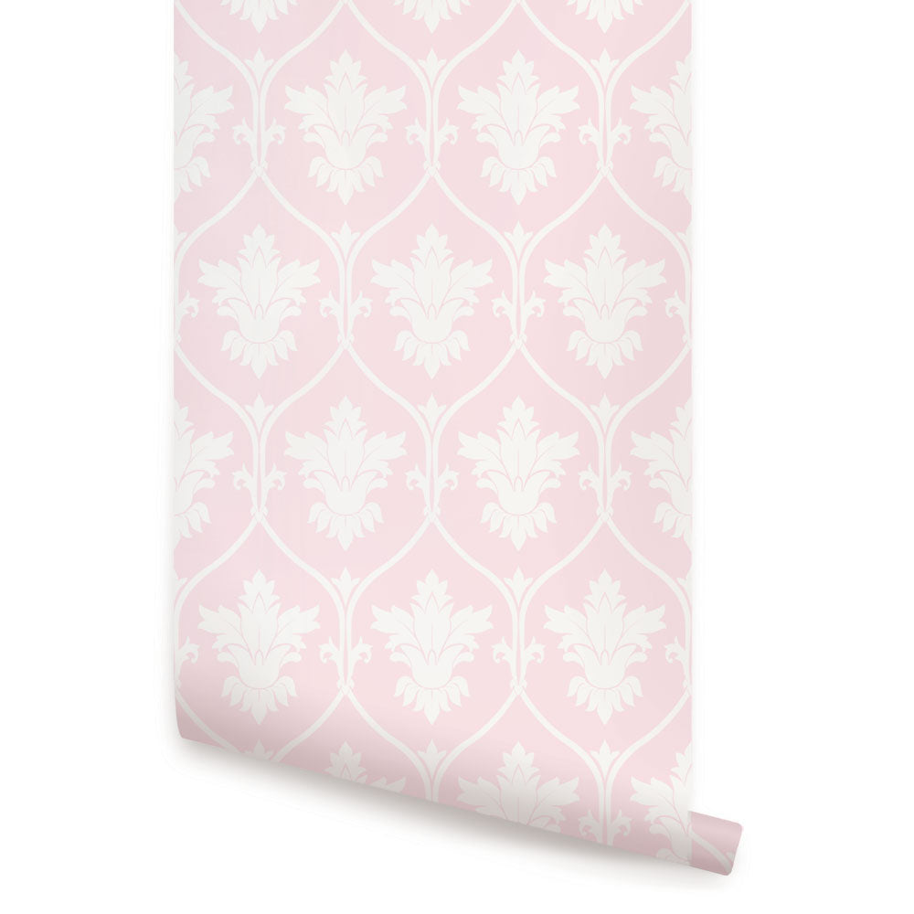 DAMASK WALLPAPER - PEEL AND STICK