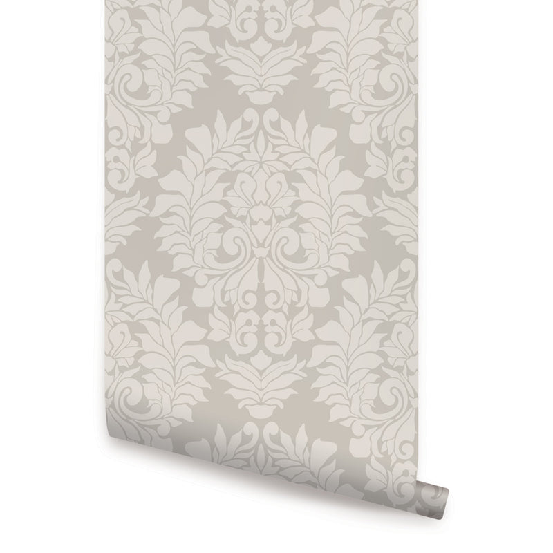 DAMASK CLASSIC WALLPAPER - PEEL AND STICK