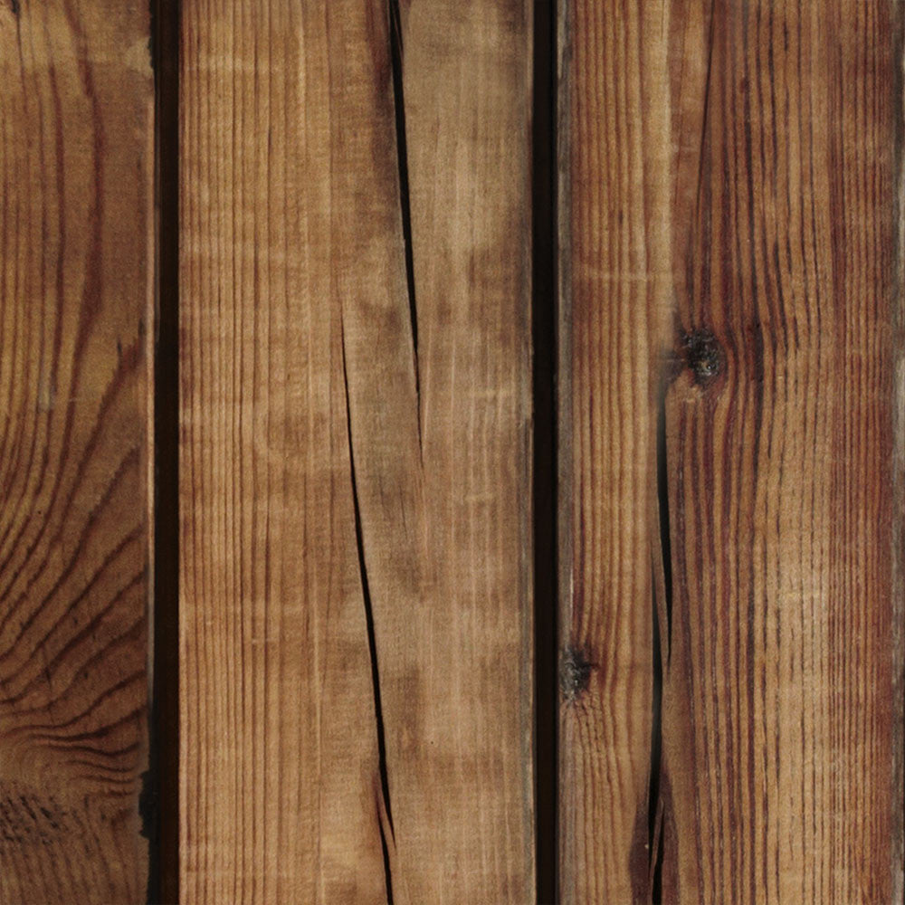Brown Wood Wallpaper - Peel and Stick
