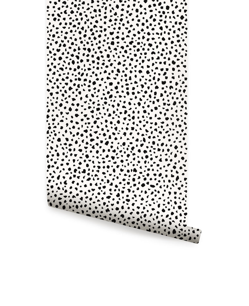 SPECKLE WALLPAPER - PEEL AND STICK WALLPAPER