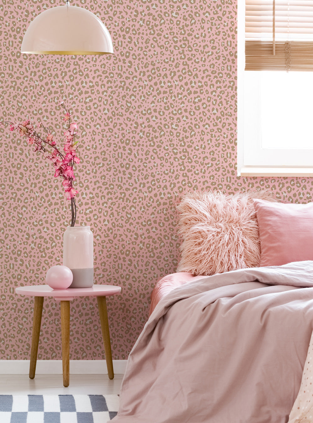 Animal Print Leopard Wallpaper - Peel and Stick