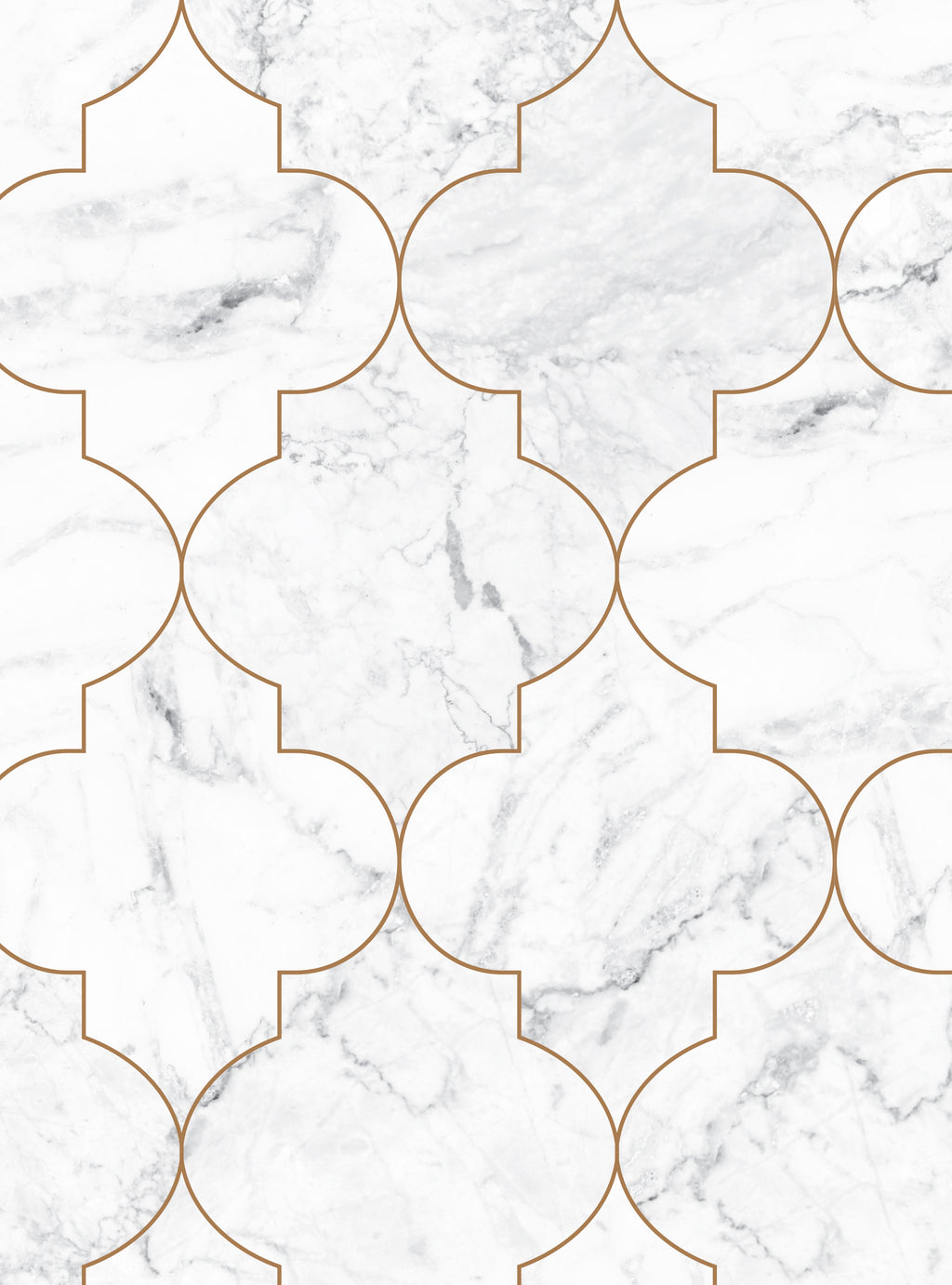 Moroccan Marble Wallpaper - Peel and Stick
