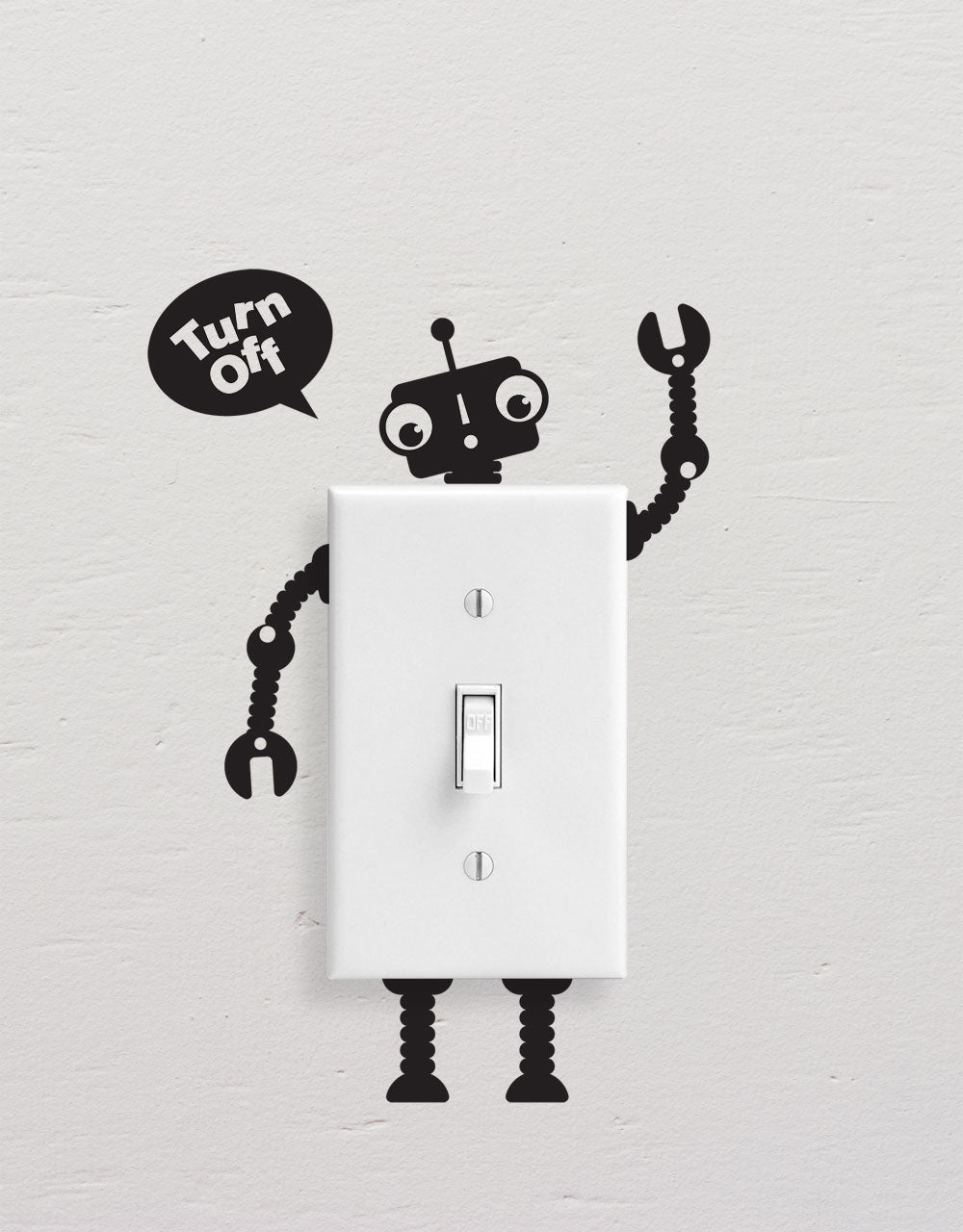 Light Switch Decal, Light Switch Sticker