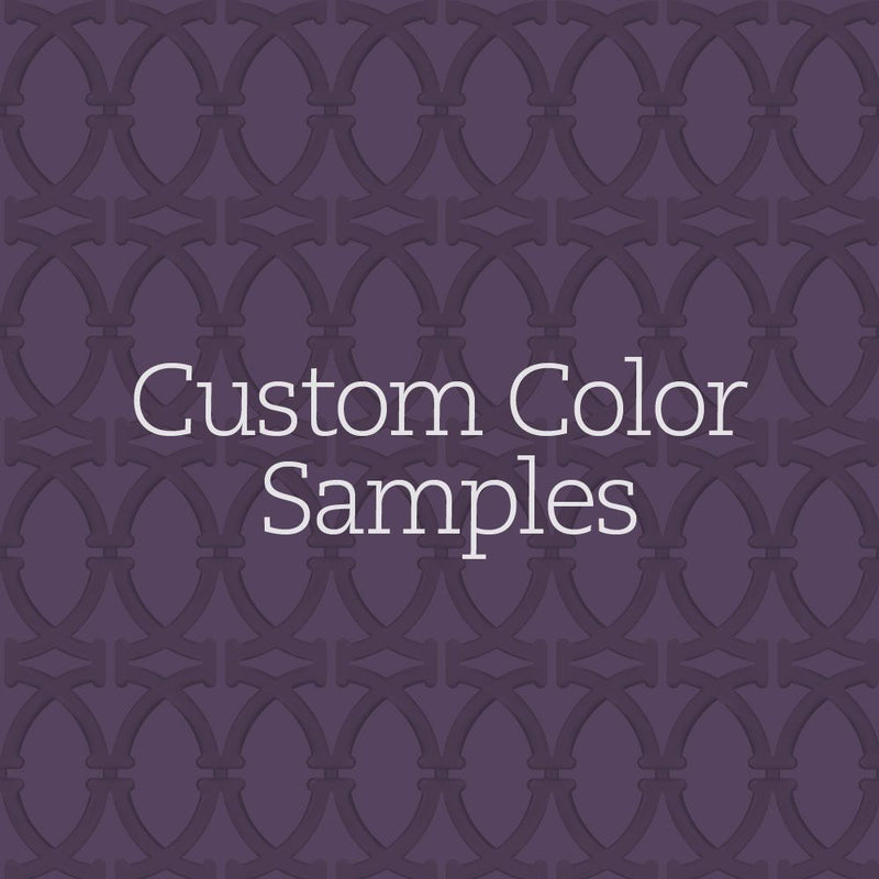 WALLPAPER CUSTOM COLOR SAMPLES - SWATCHES