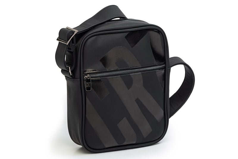 CR7 Hobart Black Crossbody Bag