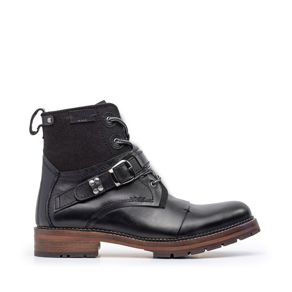LA PAZ BLACK LEATHER