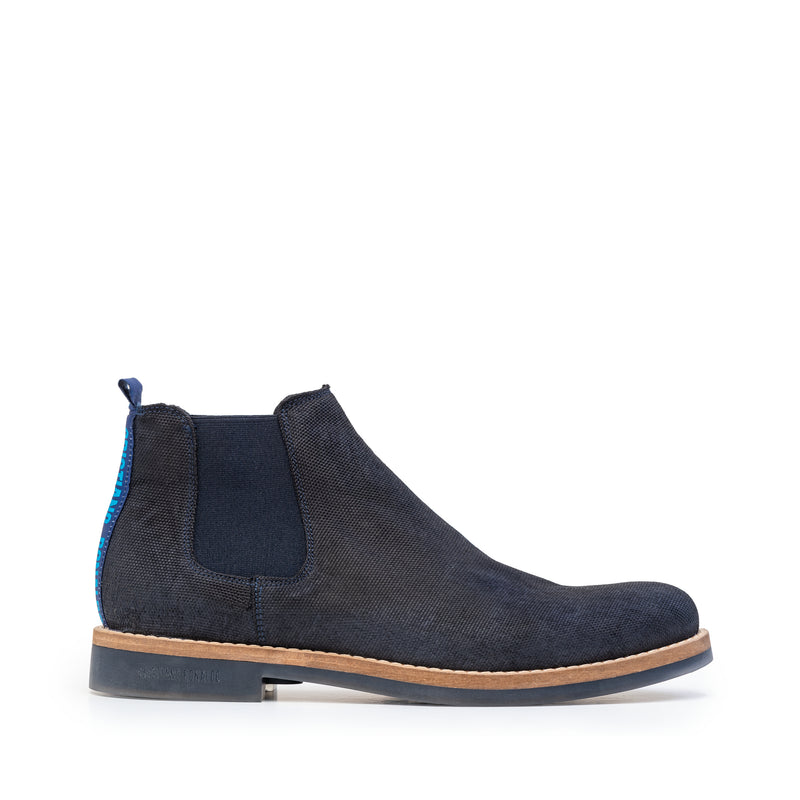 DOURO NAVY WAXED CANVAS