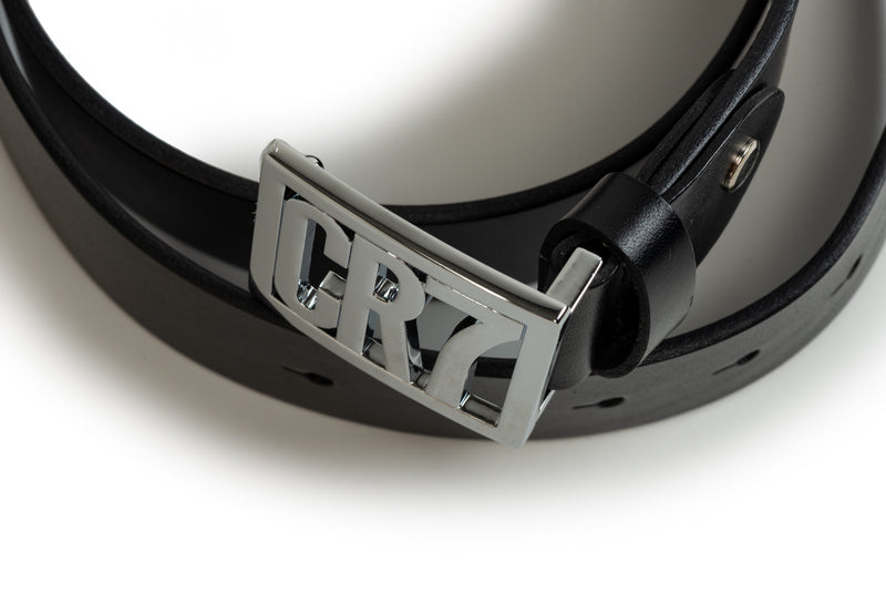 George Black Leather Belt