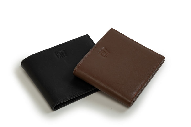 CR7 Soweto Brown Leather Billfold Wallet