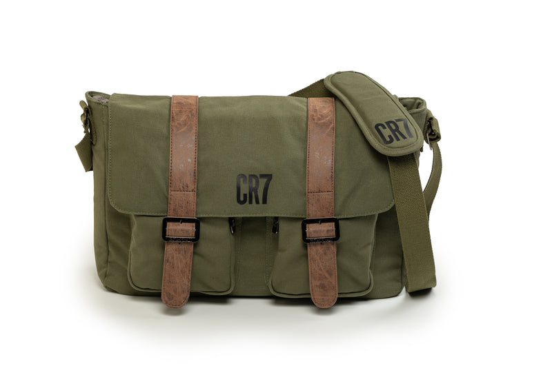 CR7 Durban Khaki Messenger Bag