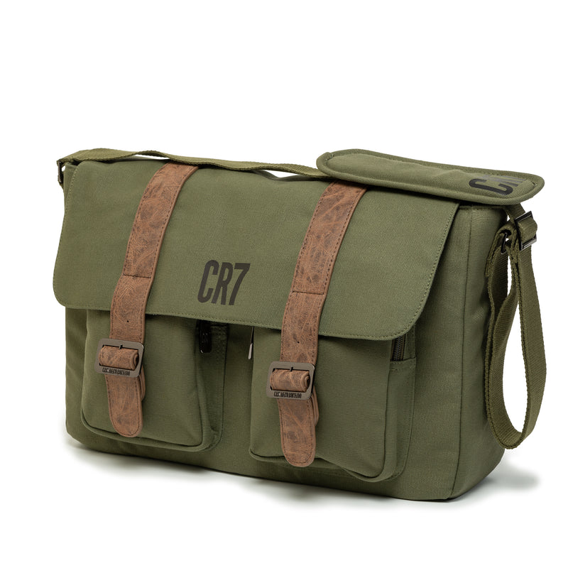 Durban Khaki Messenger Bag