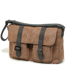 Durban Brown Messenger Bag