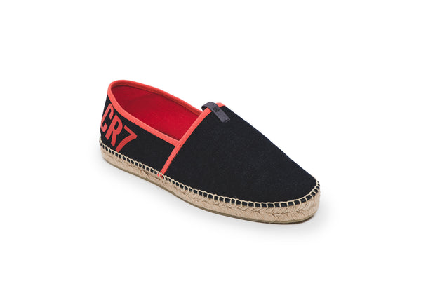 CR7 Madrid Navy Canvas Slip On Espadrille