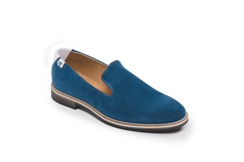 CR7 Oporto Blue Suede Slip on