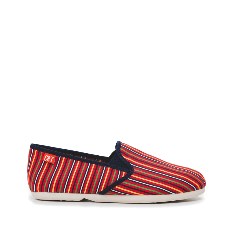 CR7 Porto Alegre Multi Canvas Slip On Espadrille
