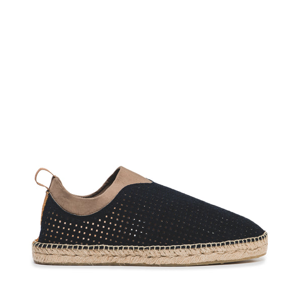 CR7 Toledo Navy Suede Slip On Espadrille