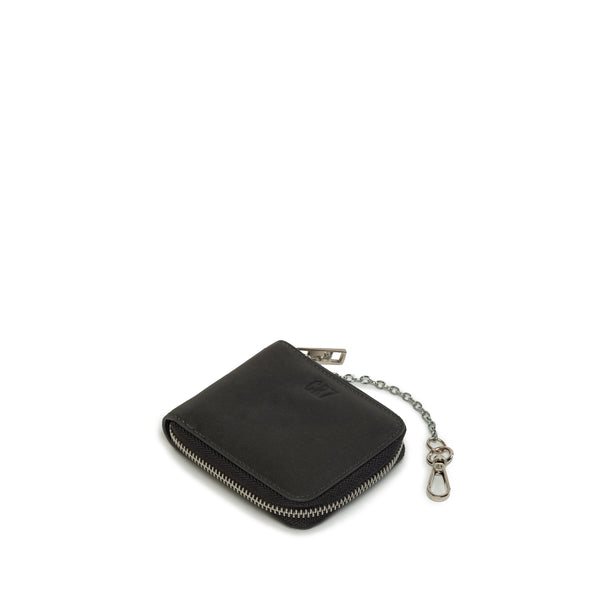 Benoni Black Leather Billfold Wallet