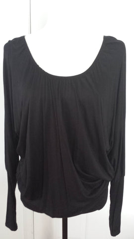Wendy - Long black pleated top - Filliae store