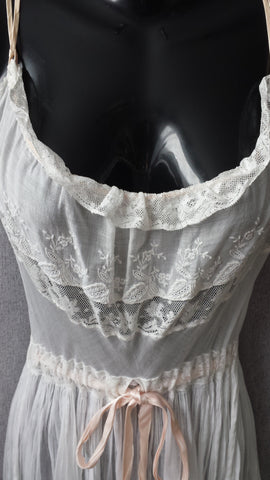 Waverly - absolutely beautiful Edwardian slip dress